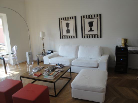 B&B Santo Stefano: The guest/lounge area