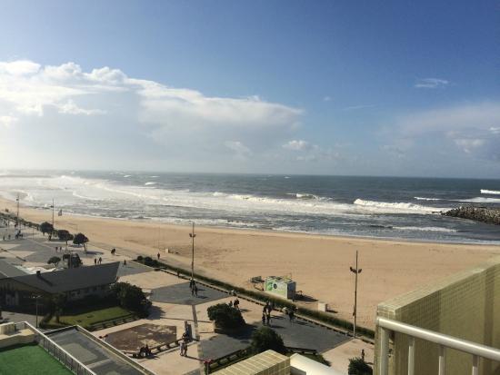 Hotel PraiaGolfe: Vue de la chambre