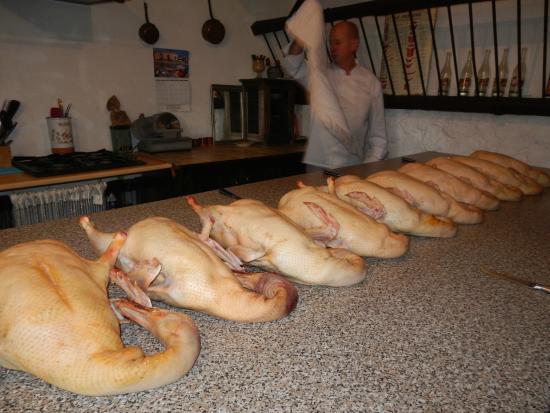 Le Clos des Mousquetaires : l'atelier canard