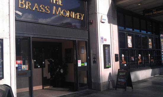 The Brass Monkey Pub