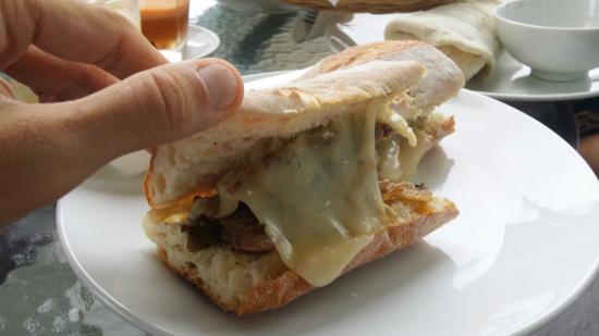 Lucky 13 Sandwich: big sandwich :)