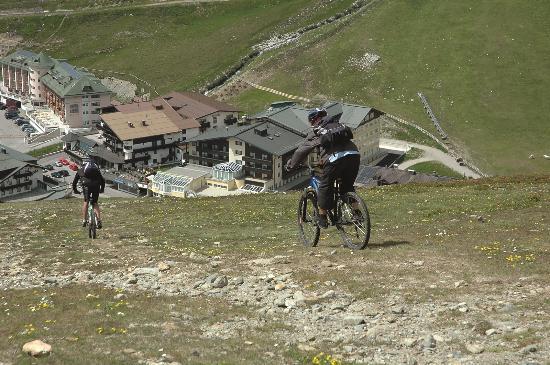 Sporthotel Kühtai: Mountainbiken - Kühtai