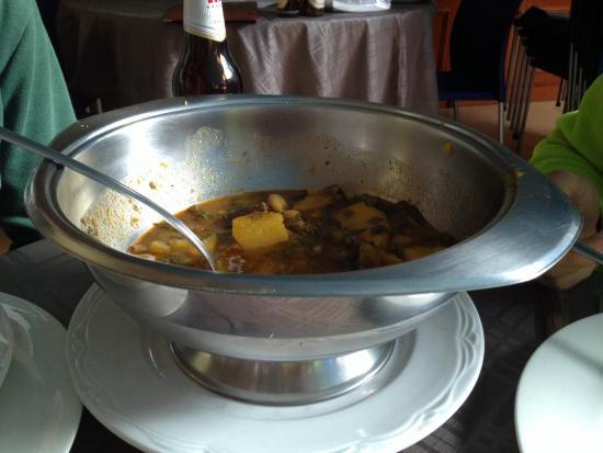 Restaurante Traslavilla: Pote (para un comensal)