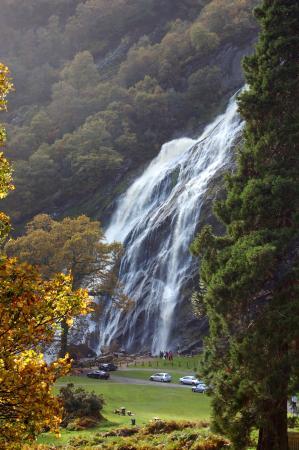 Powerscourt Waterfall: The waterfall
