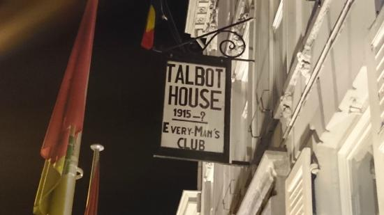 Talbot House : Sign outside