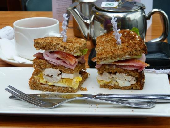 Holiday Inn Bolton Centre: Een lekker lunchgerecht in het hotel