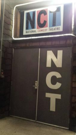 National Comedy Theatre: Front door