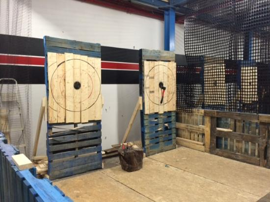 The throwing ranges - Picture of BATL - The Backyard Axe ...