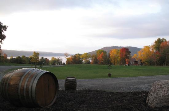 Domaine Leseurre Winery: Spectacular Fall Foliage! Vive Les Finger Lakes!!!