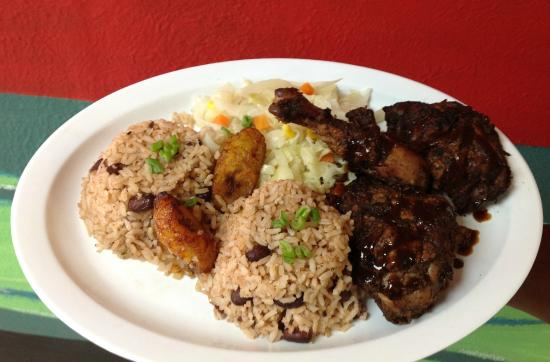 Lunch authentic jamaican food review of angie 39 s for Authentic caribbean cuisine