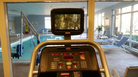 Hampton Inn Dulles-Cascades : fitness room