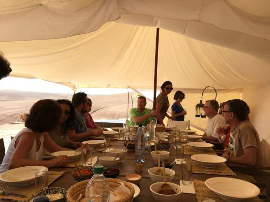 Scarabeo Camp : lunch time