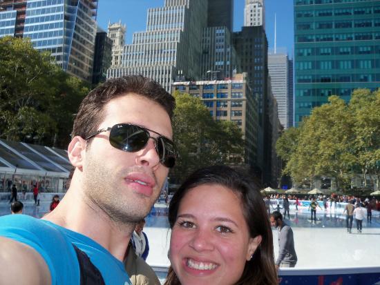 The Rink at Rockefeller Center: pista de patinação