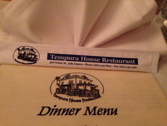 Tempura House: It Starts