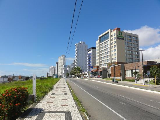Holiday Inn Express Natal Ponta Negra: Vista da localização do hotel