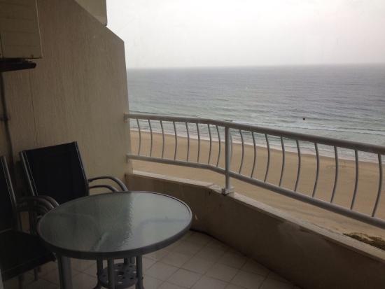 19th Avenue on the Beach: On the balcony