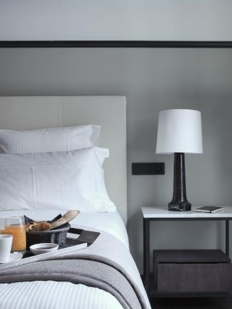 The Chess Hotel: Petit-déjeuner en chambre Deluxe