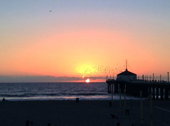 Manhattan Beach, Kaliforniya: Roundhouse at Sunset