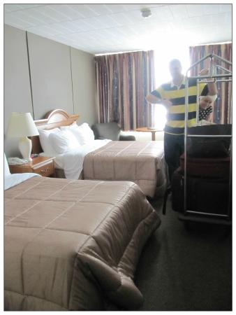 Confederation Place Hotel: Room