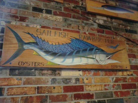 Awful Arthur's Oyster Bar: Innen