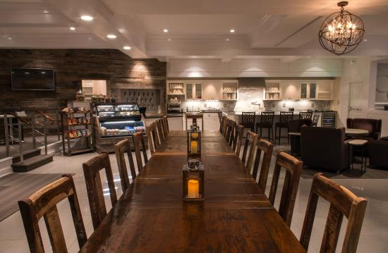 Kirkley Hotel: The Great Room Communal Table