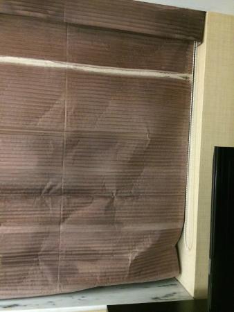 The Saratoga Hilton: Water damaged shades