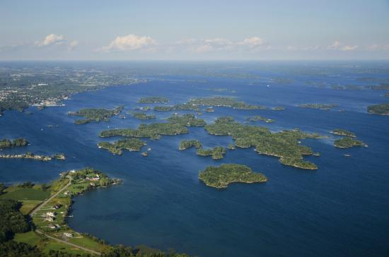 Admiralty Islands located on the shoreline of Gananoque, ON