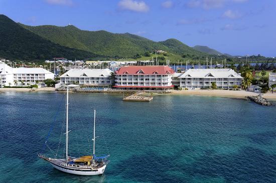 Le Beach Hotel: Vue aérienne
