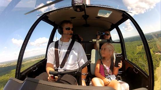 1000 Islands Helicopter Tours Inside The