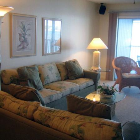Shaw Park Beach Hotel & Spa: Living Room
