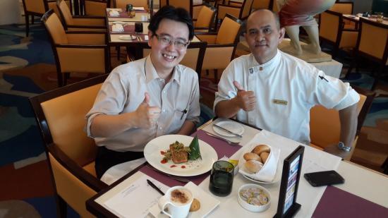 Hotel Ciputra Jakarta : With Chef Kelana