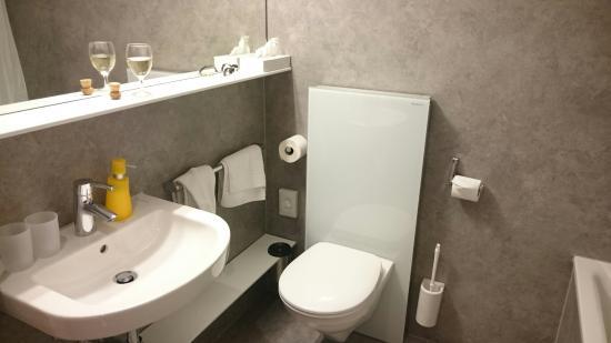 Hotel Waldhorn: Ванная комната