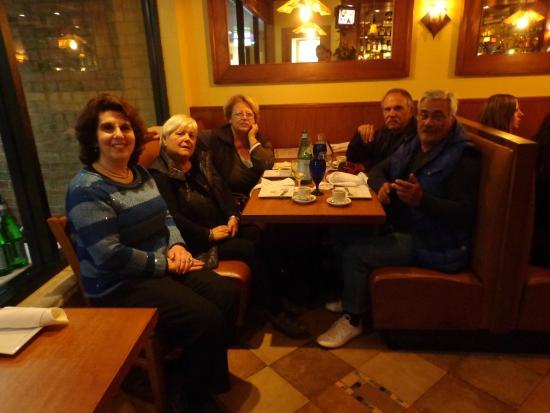 Franco's Metro: Antonietta with Alberta, Lina, Piergiò and Gino