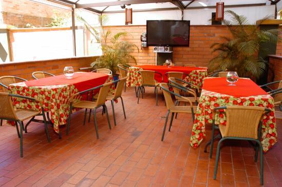 Aparta Suitte La Provincia: Comedor del Hotel