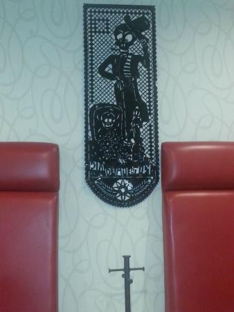 Hotel Regente City: Decoracion dia de Muertos