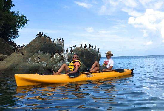 Walk On Water: Kayaking Magen's Bay & Boobie Birds