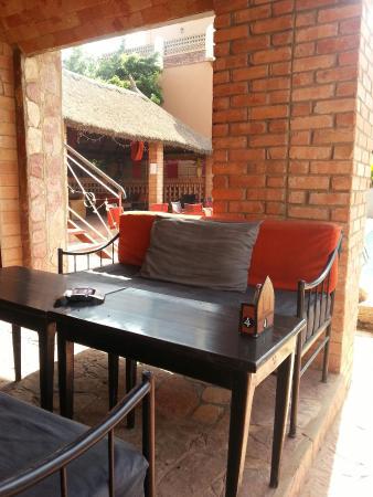 Villa Soudan : Restaurant ouvert