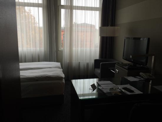 GOLD INN Adrema Hotel: Raucherzimmer im 4. OG