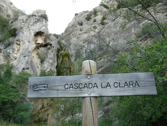 Aliaga, Spanyol: Cascada La Clara