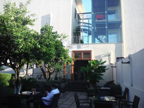 Hotel Diana Pompei: Jardin