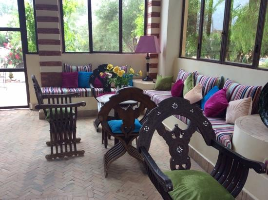 Villa Vanille: lovely seating area