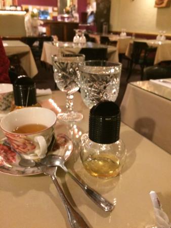 Thai Village Cuisine - Batavia IL: Nice Dinnerware
