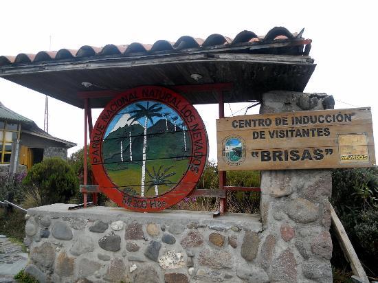 Nevado del Ruiz: Entrada al Parque de los Nevados