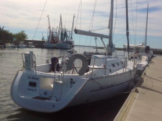 Charleston Sail - Harbor Yacht Tours: The New Horizon!