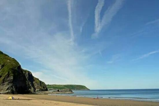 Beautiful Tresaith beach
