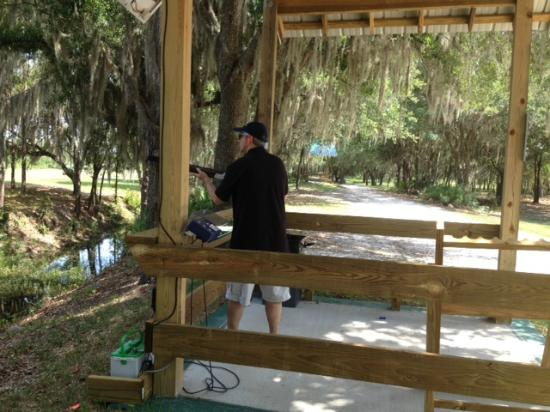 Tenoroc Shooting Sports : Shade for all stands