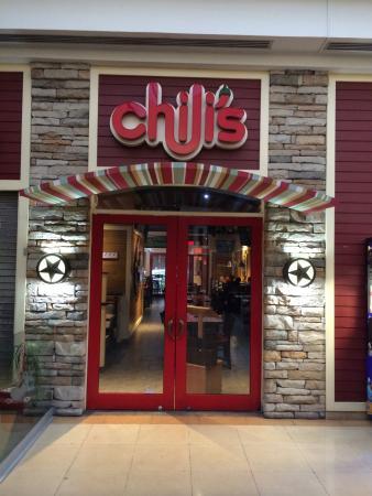 Chili's Zona Rosa: Entrada por el centro comercial