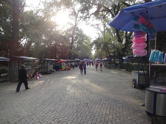 La Feria de Chapultepec: Feira do bosque
