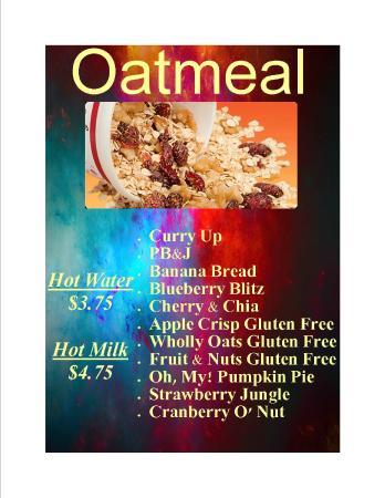 Moon Rise Cafe: Oatmeal