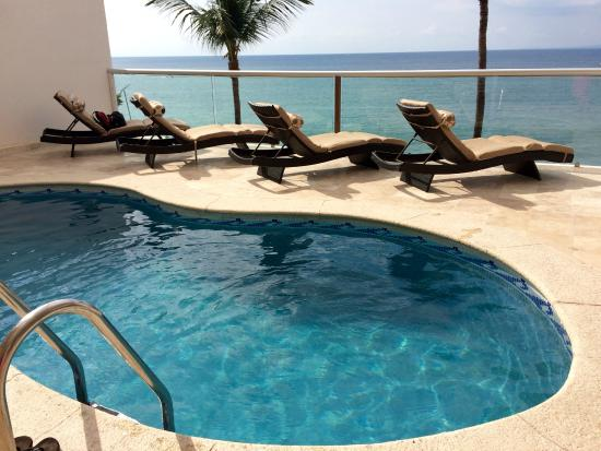 Vallarta Shores: Our own private pool in Penthouse A